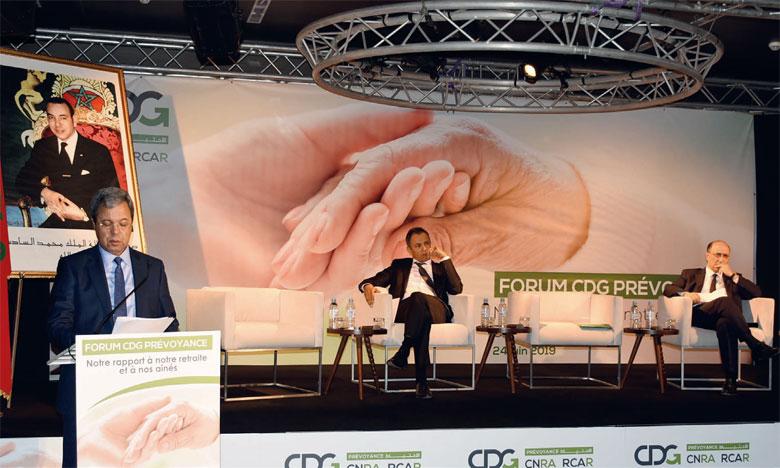 Le Forum CDG Prévoyance s'est tenu hier à Rabat. Ph. Kartouch
