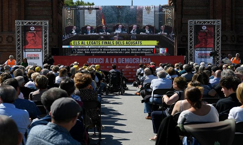 Espagne: fin du procès des indépendantistes catalans