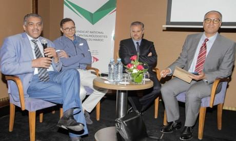 Le Syndicat national des ophtalmologistes libéraux du Maroc a tenu une conférence de presse pour plaider sa cause auprès de l'opinion publique et des représentants de la Nation. Ph. DR