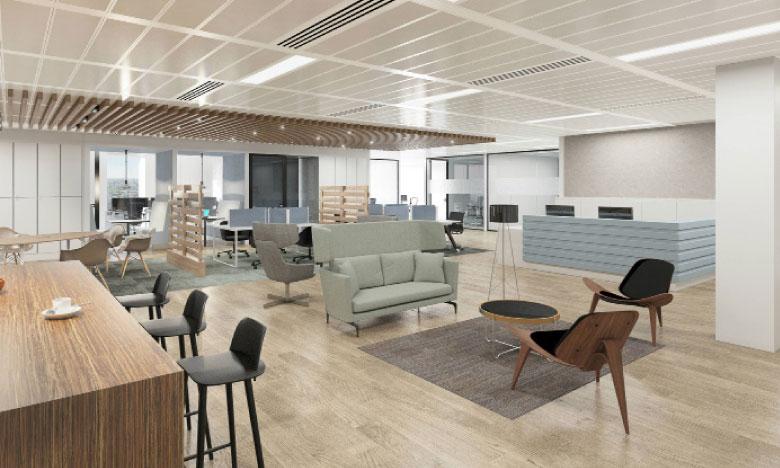 Les espaces de «Coworking» offrent des avantages qui fonctionnent positivement en entreprise. Ph. Archives
