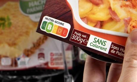 Le système d'étiquetage nutritionnel simplifié Nutri-Scoreest basé sur cinq lettres (A,B,C,D et E) et un code couleurs selon la qualité nutritionnelle de l'aliment. Ph. DR