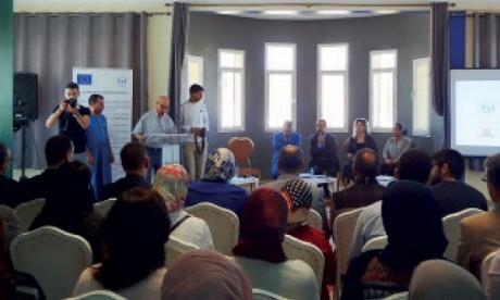 Le projet vise à accompagner et à encadrer, au niveau de la région de l'Oriental, quelque 100 familles de personnes en situation de handicap.