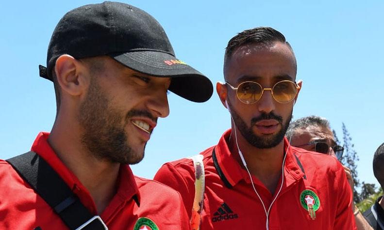 Les Lions de l'Atlas à pied d'œuvre au Caire pour préparer le match face à la Namibie