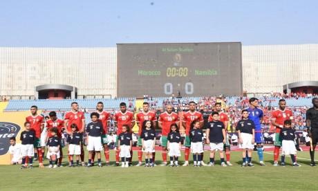 Maroc – Namibie:  le Onze titulaire du Maroc a connu plusieurs changements