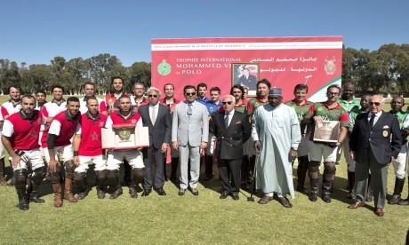 S.A.R. le Prince Moulay Rachid préside à Rabat la finale de la 3è édition du Trophée International Mohammed VI de Polo