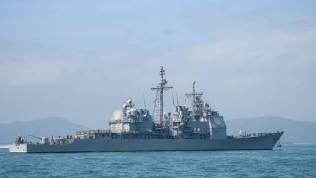 Incident entre des navires de guerre américain et russe en mer de Chine