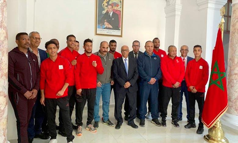 Boxe: L'équipe nationale du Maroc en stage de préparation à Cuba