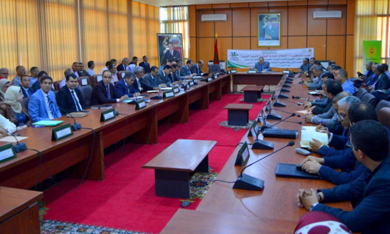 Le Conseil provincial a décidé de contracter un crédit de 24 millions de DH auprès du Fonds  d'équipement communal pour la création de 32 terrains de proximité.