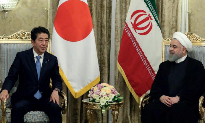Le Premier ministre japonais en Iran