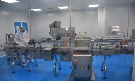 """""""Mylan Pharmaceuticals Maroc"""" présente sa 1re unité de production"""