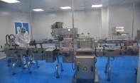 L'usine déployée sur une superficie de plus de 1.500 m² est dotée d'une capacité de production de 60 flacons par minute. Ph. Sradni