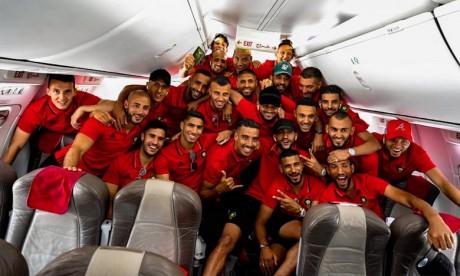 Les Lions de l'Atlas débarquent en Egypte