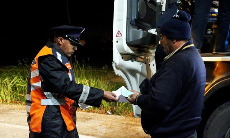 Les opérations sécuritaires menées ont abouti à l'établissement de 415 procès-verbaux à l'encontre de ces conducteurs et l'immobilisation de 414 véhicules. Ph. MAP