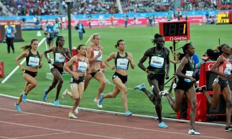 Diamond League : Rabab Arrafi termine 4e au 1.500 m