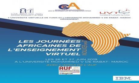 Les 2e Journées africaines de l'enseignement virtuel à Rabat