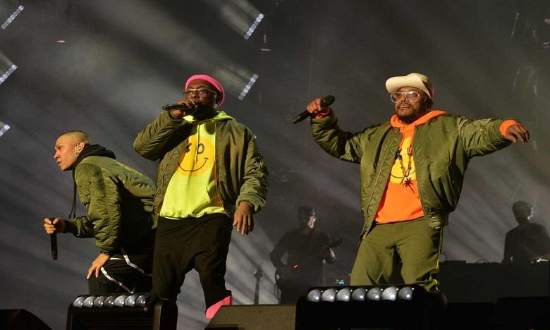 Les Black Eyed Peas enflamment la scène OLM Souissi