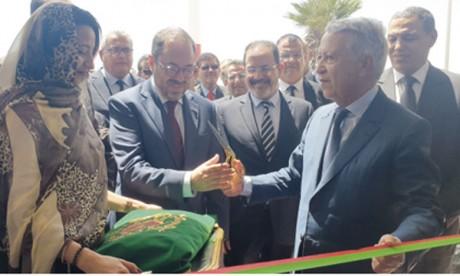 Une importante délégation d'officiels a effectué le mardi 11 juin le premier vol de cette nouvelle base reliant Agadir à Laâyoune. Ph M. Hafidi
