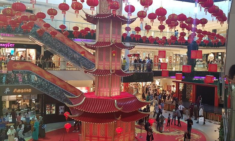 Le Morocco Mall se met aux couleurs de la Chine