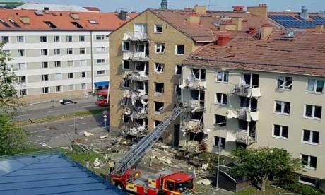25 blessés dans une explosion à Linköping