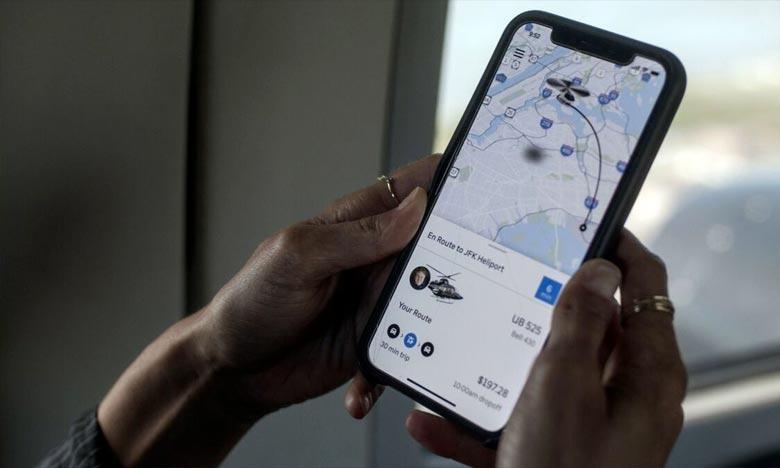 Uber propose des courses en hélicoptère à New York