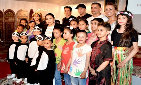 S.A.R. la Princesse Lalla Asmae préside la cérémonie de fin d'année scolaire 2018-2019 de la Fondation Lalla Asmae pour Enfants et Jeunes Sourds