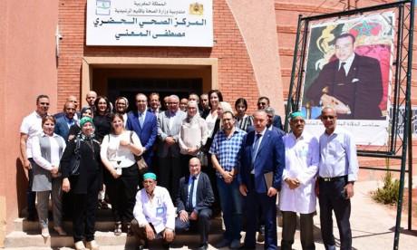 La cérémonie d'inauguration a été l'occasion de présenter le parcours du patient diabétique au niveau du Centre de santé Mustapha El Mâani.