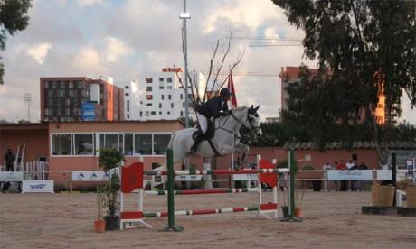 Les cavaliers marocains se testent avant le Championnat du Maroc