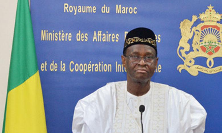 Le ministre malien des AE remercie le Maroc pour l'accompagnement des initiatives de paix et stabilité dans son pays