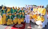 la sorba du Moqaddem Maher El Bachir avait remporté la 19e édition du Trophée Hassan II ainsi que le GP de S.M. le Roi Mohammed VI de Tbourida. Ph : MAP