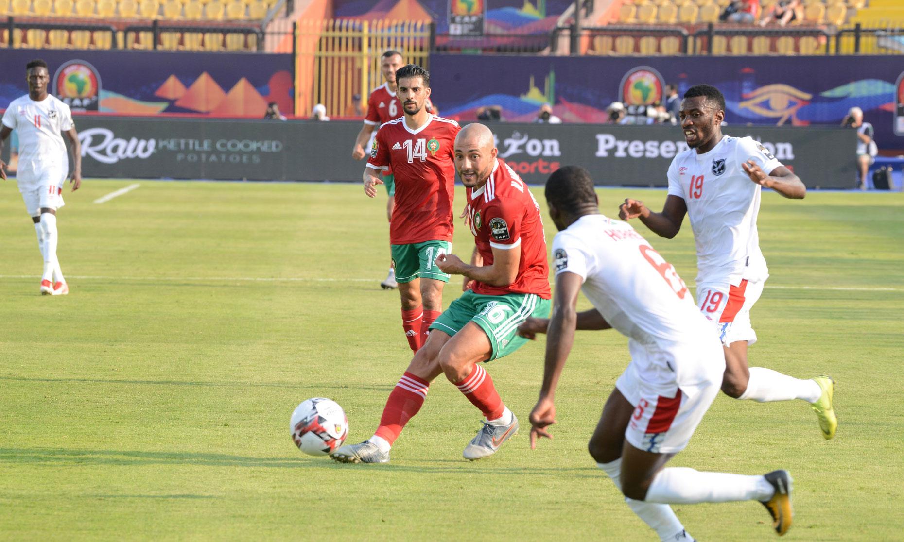 Les Lions de l'Atlas démarrent sur une petite victoire face à la Namibie