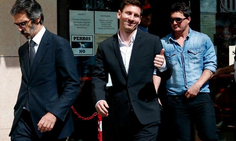 Plainte en Espagne contre Messi et sa Fondation