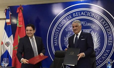 Le Maroc et la République dominicaine déterminés à donner une nouvelle impulsion à la coopération bilatérale