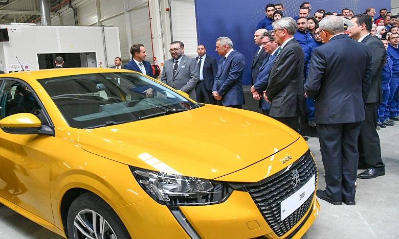 S.M. le Roi préside la cérémonie d'inauguration de l'écosystème  du Groupe PSA au Maroc, une nouvelle illustration de l'excellence  du «Made in Morocco»