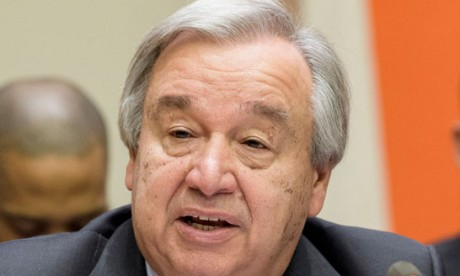 António Guterres : «Tout le monde doit pouvoir accéder  aux possibilités offertes par le numérique et en bénéficier»