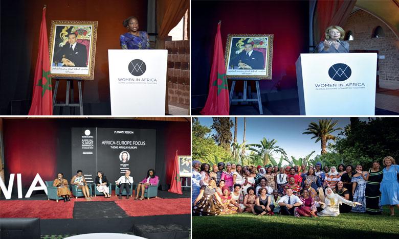 Woman in Africa Initiative 2019 a rassemblé 500 personnes de 75 pays à l'occasion de son troisième Sommet tenu les 27 et 28 juin 2019 à Marrakech.          Phs. Sradni