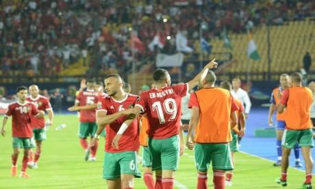 Youssef Ennseyri offre l'avantage aux Lions au terme des 45 premières minutes