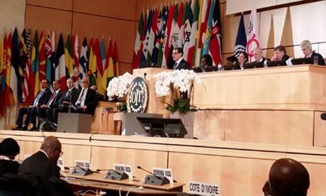 El Othmani prend part  à la 108e Conférence internationale du travail