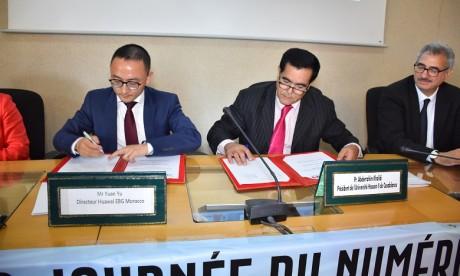 « Huawei ICT Academy » : l'Université Hassan II de Casablanca et Huawei s'allient