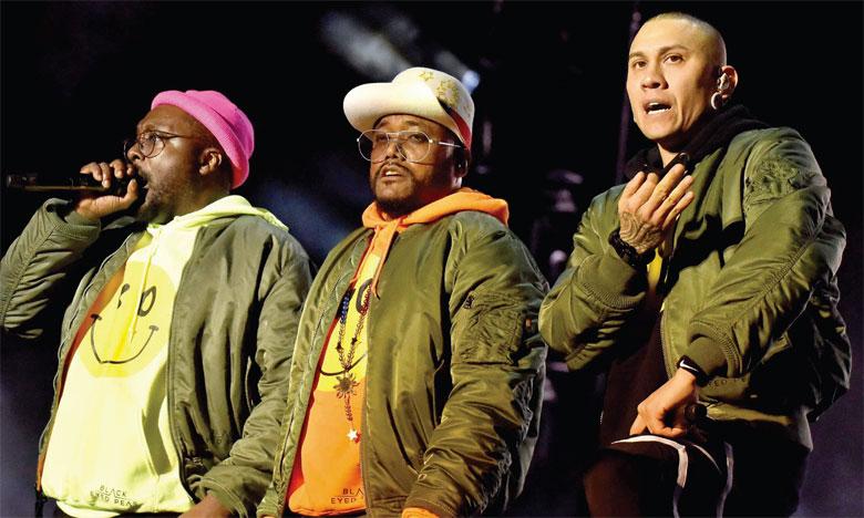 Un beau concert des Black Eyed Peas sur OLM Souissi