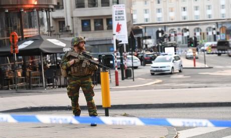 La Belgique a aussi connu ces trois dernières années plusieurs agressions contre des militaires ou des policiers, dont certaines ont été revendiquées par l'EI. Ph. AFP/Archives