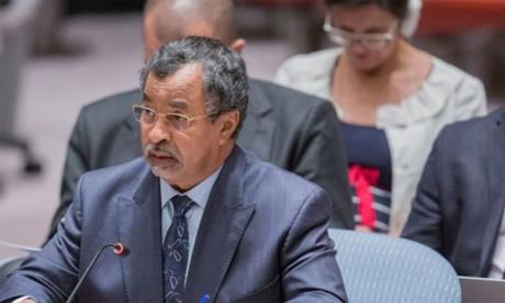 Mahamat Saleh Annadif, l'envoyé de l'ONU pour le Mali, a développé les cinq priorités d'intervention. Ph. DR