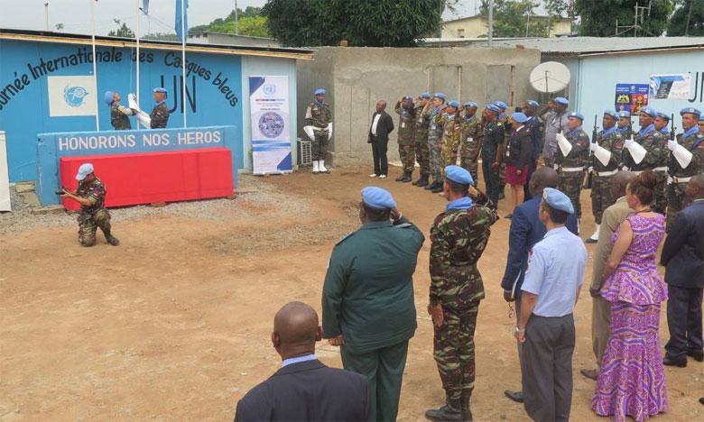 Le contingent marocain déployé en RDC décoré pour les services louables rendus au sein de la Monusco