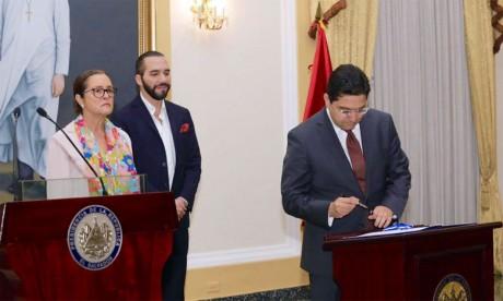 Le Maroc et le Salvador établissent une feuille  de route de coopération quadriennale