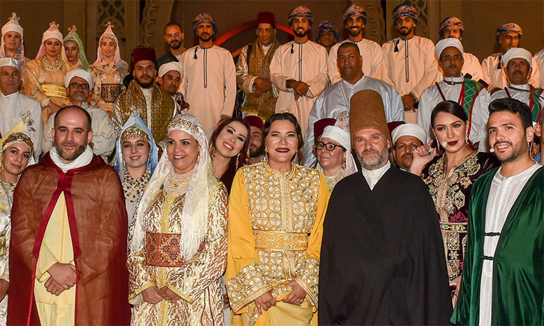 S.A.R. la Princesse Lalla Hasnaa préside l'ouverture du 25e Festival de Fès des musiques sacrées du monde