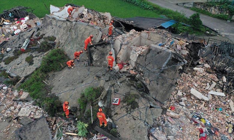 La Chine frappée par un séisme