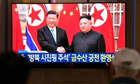 Kim célèbre l'amitié chinoise avec la visite de Xi Jinping