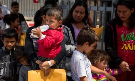 On estime à 12 millions le nombre de migrants en situation irrégulière aux États-Unis, venant principalement du Mexique et de pays d'Amérique centrale. Ph : AFP