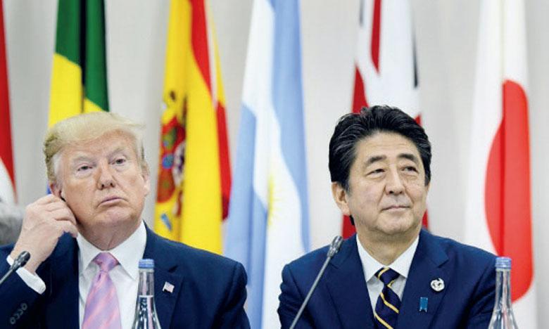 Le communiqué final du G20 à Osaka signé par 19 Chefs d'État fait référence à l'irréversibilité de l'accord de lutte contre le réchauffement climatique signé en 2015 à Paris. Ph. AFP