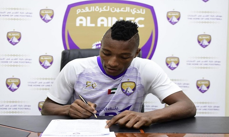 Laba Kodjo rejoint officiellement le club émirati d'Al Ain