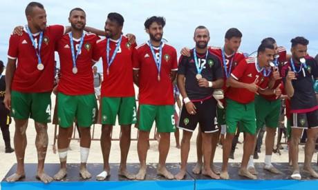 Le Maroc sacré champion de la première édition des Jeux africains de plage